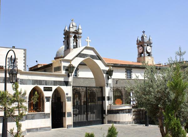Melkite_Greek_Catholic_Church,_Damascus,_Syria